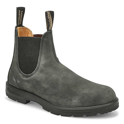 Unisex 550 SERIES rustic black boots - UK SIZING