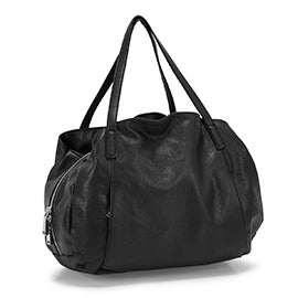 Co-Lab Women's 6034 black large triple tote