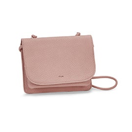 Co-Lab Women's SYDNEY cotton candy organizer crossbody