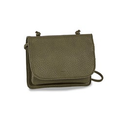 Lds Sydney Organizer leaf crossbody bag