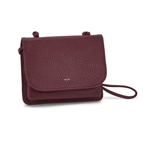Lds Sydney Organizer wine crossbody bag