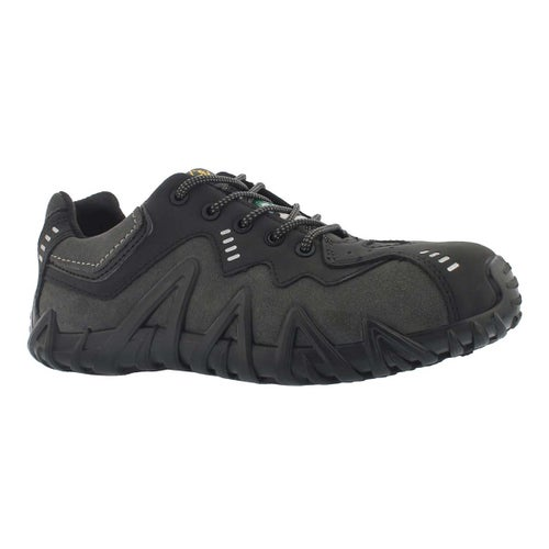Mns Spider blk/char lace up CSA sneaker