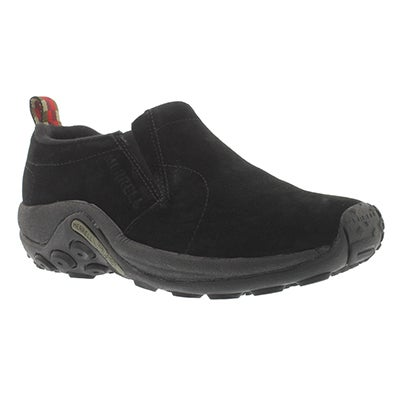 Merrell Women's JUNGLE MOC black slip-on shoes