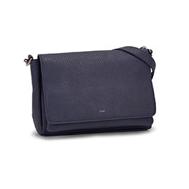 Co-Lab Women's ENERGY denim messenger crossbody bag