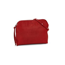 Co-Lab Women's 6143 red crossbody bag