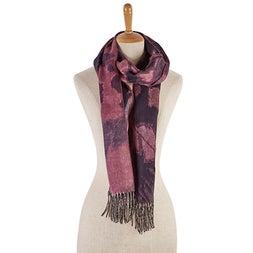 Lds Mirage navy scarf