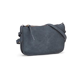 Co-Lab Women's 6262 pond blue small crossbody bag