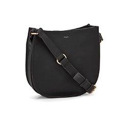 Lds black medium crossbody bag