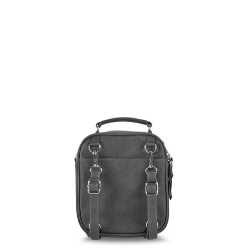 Lds charcoal crossbody backpack