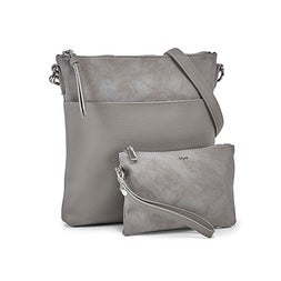 Lds dove removable pouch crossbody bag