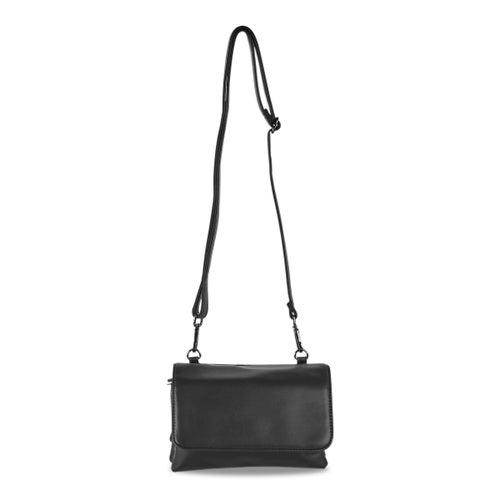 Lds Nappa Smalls black crossbody bag