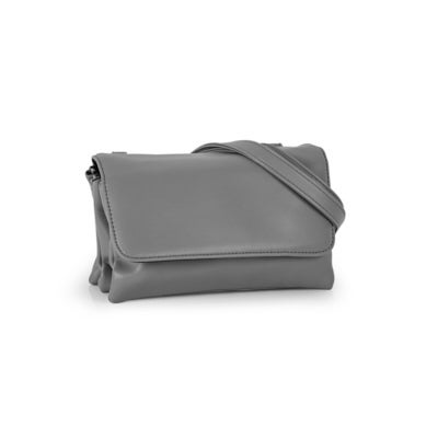 Co-Lab Women's 6335 smooth triple grey crossbody bag