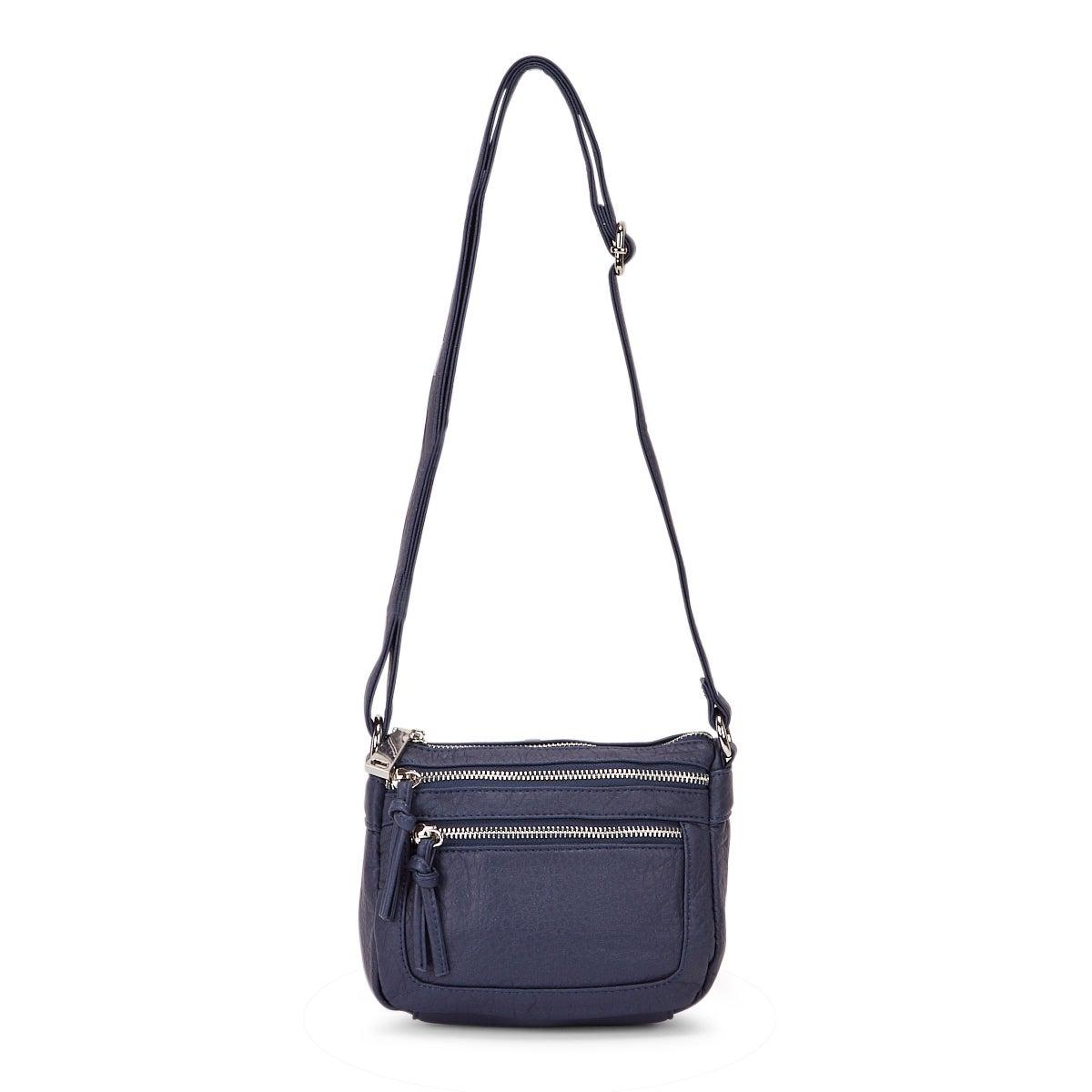 Women's LOFT washed vintage marina crossbody bag