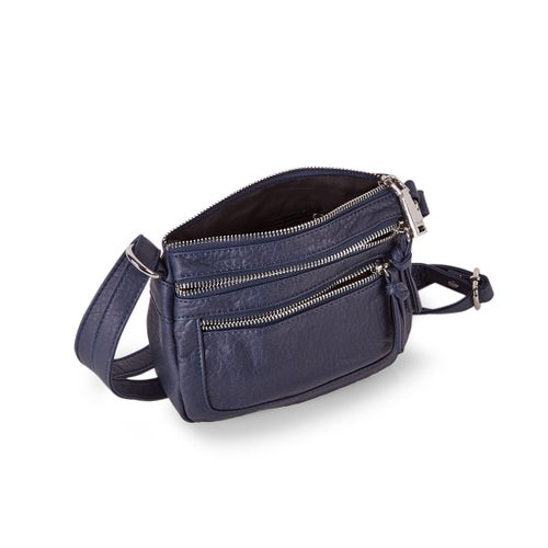 Lds Washed Vintage marin small crossbody