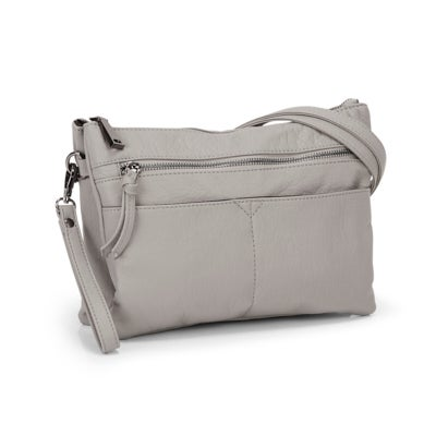 Co-Lab Women's LOFT washed vintage grey crossbody
