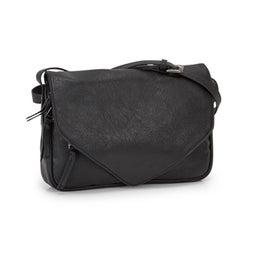Lds Messenger black crossbody bag