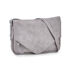 Lds Messenger grey crossbody bag