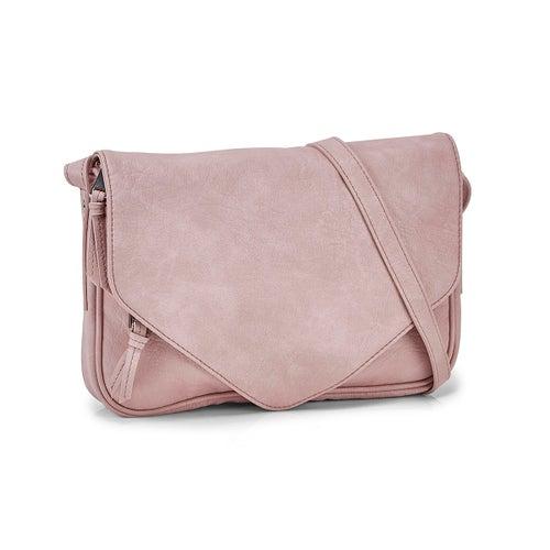 Lds Messenger rose crossbody bag