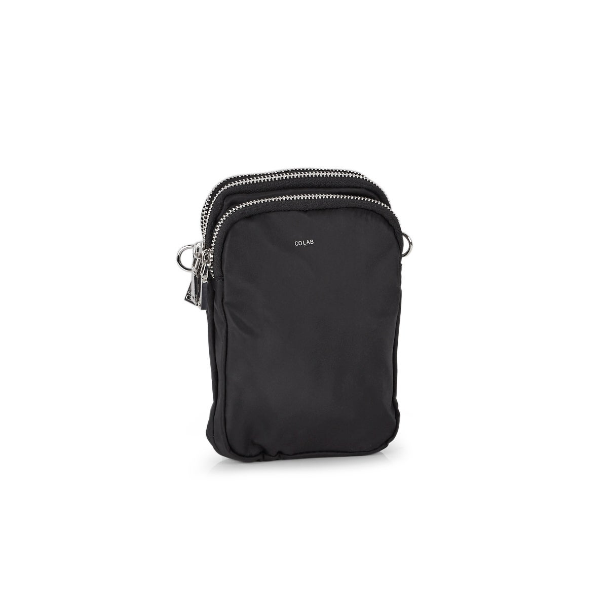 Women's 6360 black tech crossbody bag