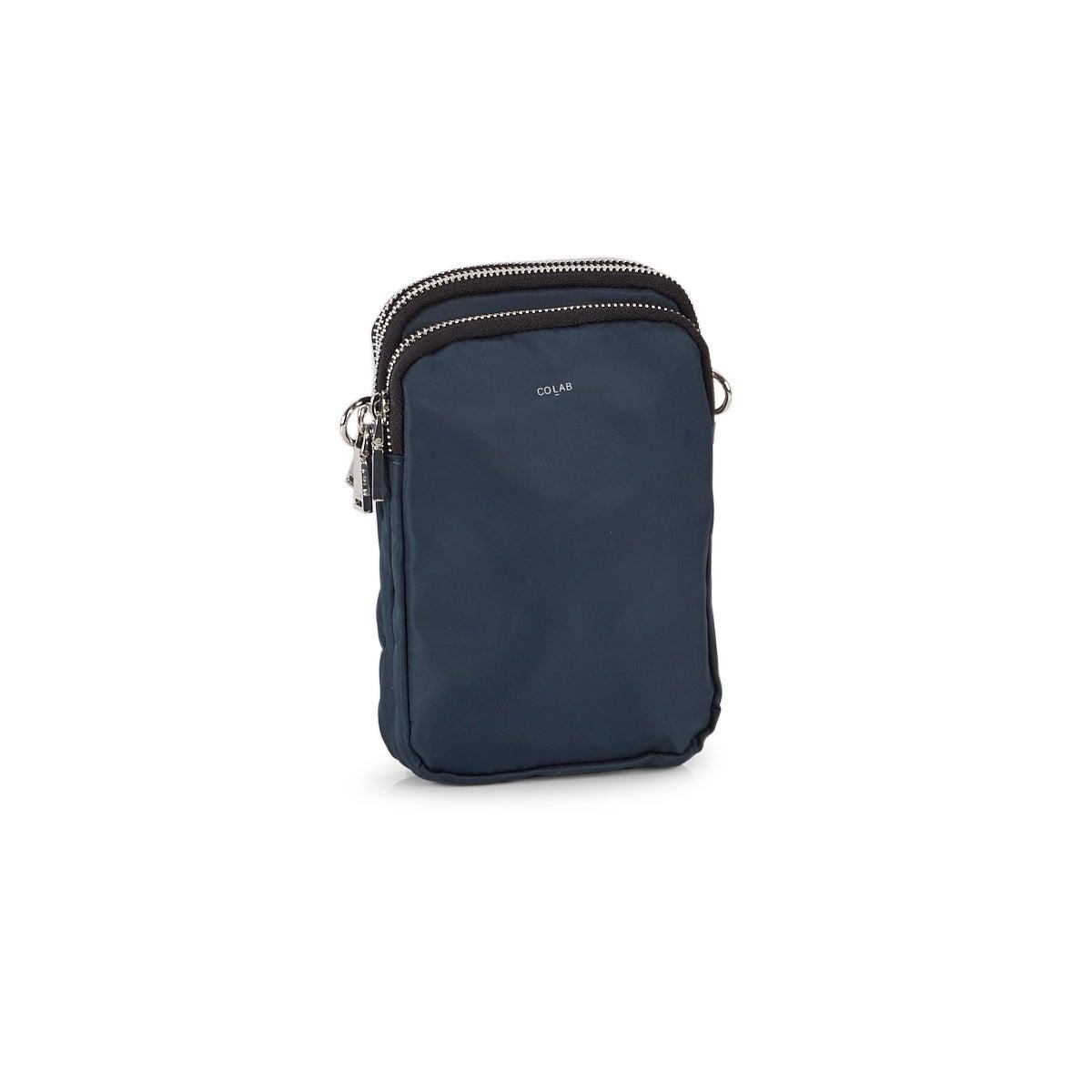 Women's 6360 dark teal tech crossbody bag