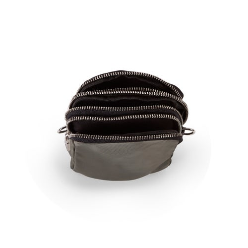 Lds olive compartment tech crossbody