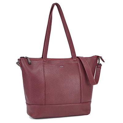 Co-Lab Women's EVERYONE'S wine top zip tote bags