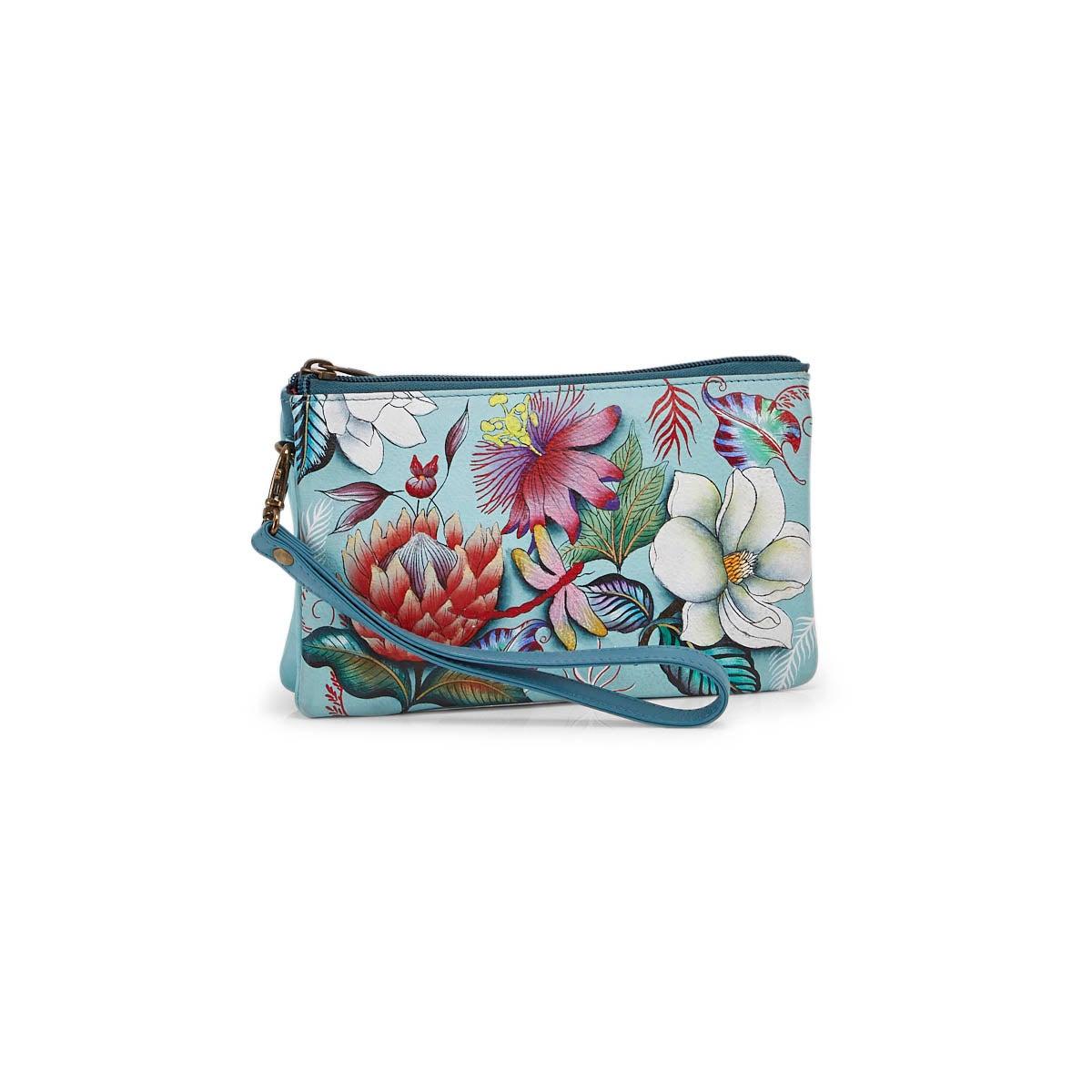 Women's Jardin Blue Crossbody Bag
