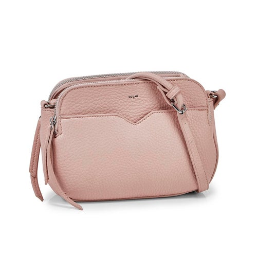 Lds Triple Crossbody ctn cndy bag