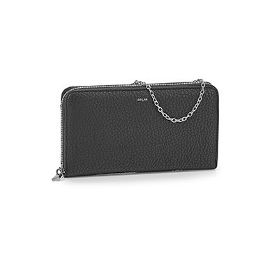 Co-Lab Women's 6397 large black wallets
