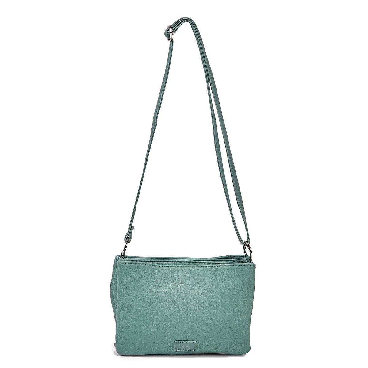 Women's 6400 Triple Crossbody Bag - Aqua