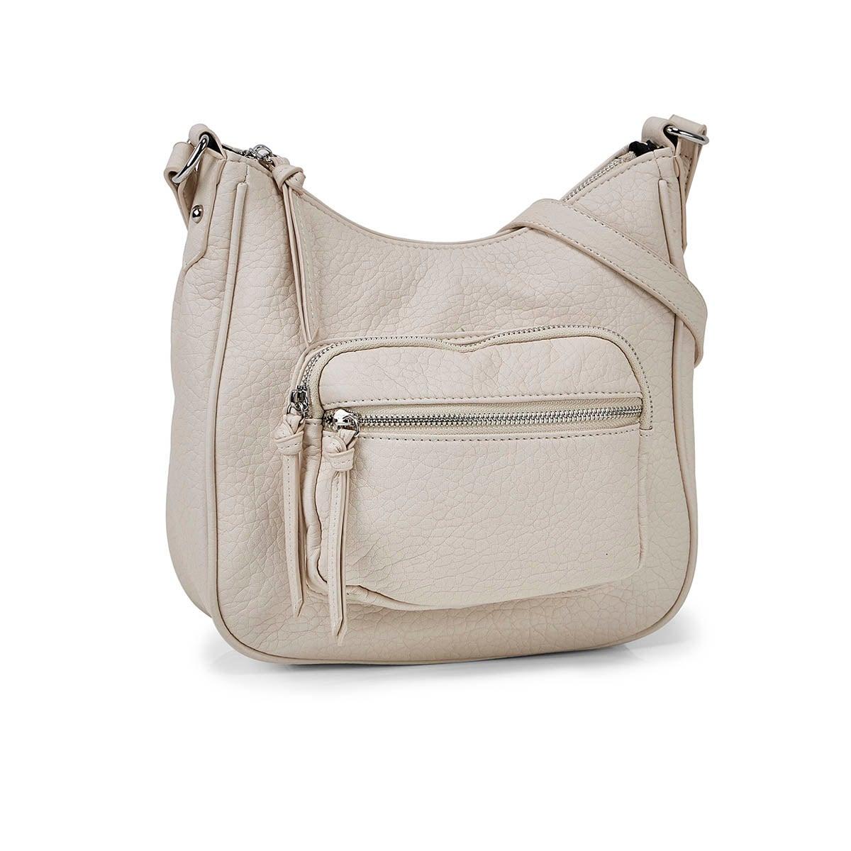 Women's 6402 washed vintage hobo crossbody bags