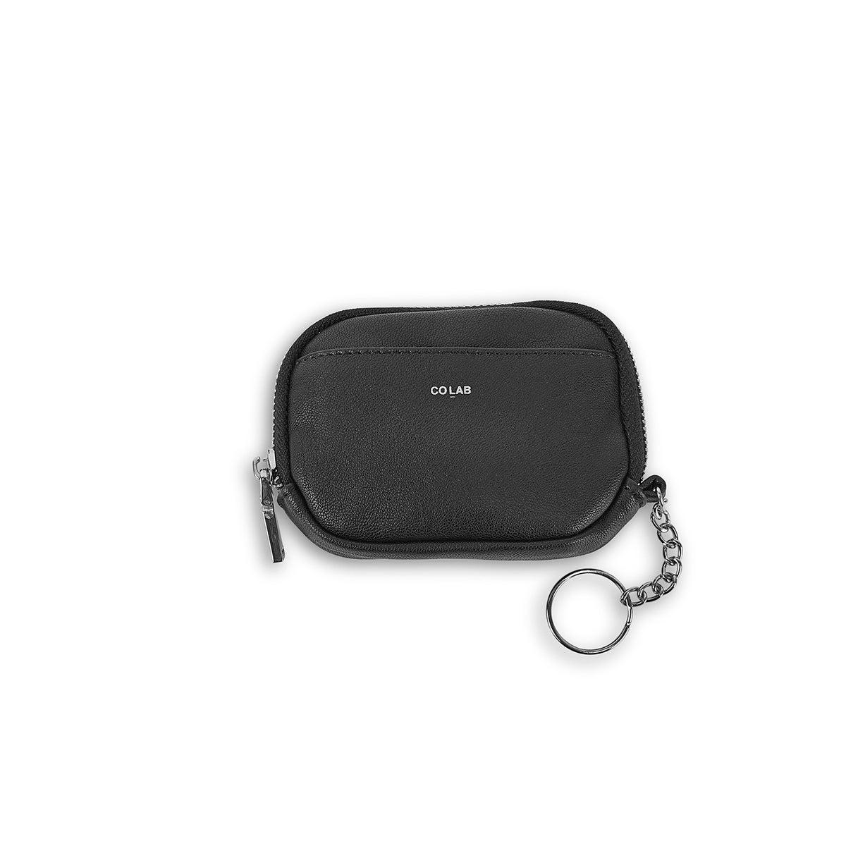 Porte-cartes/portefeuille/clés 6427, noir, femmes