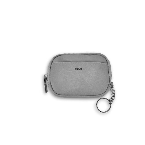 Lds grey coin key cardcase