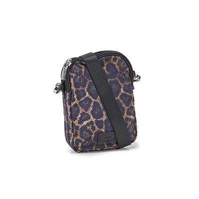 Co-Lab Women's 6430 leopard triple-tech crossbody bags