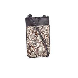 Lds grey snake tech crossbody bag