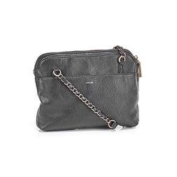 Lds black basic crossbody bag