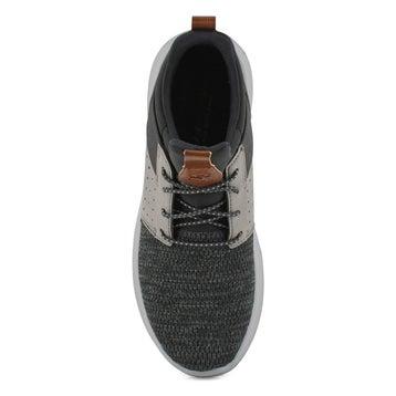 Men's DELSON CAMBEN black/grey slip on sneakers