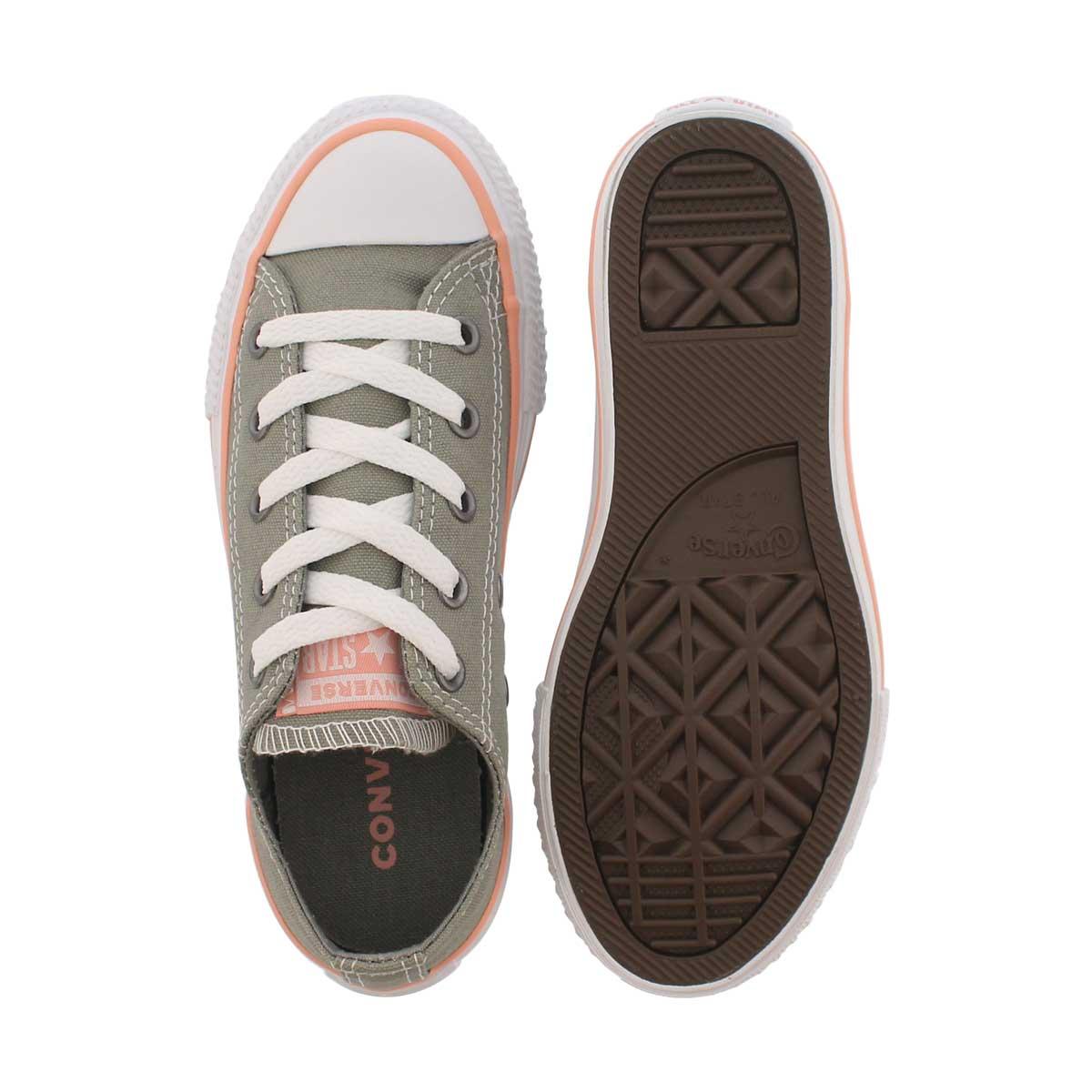 Girls' CT ALL STAR SEASONAL stucco/coral sneakers