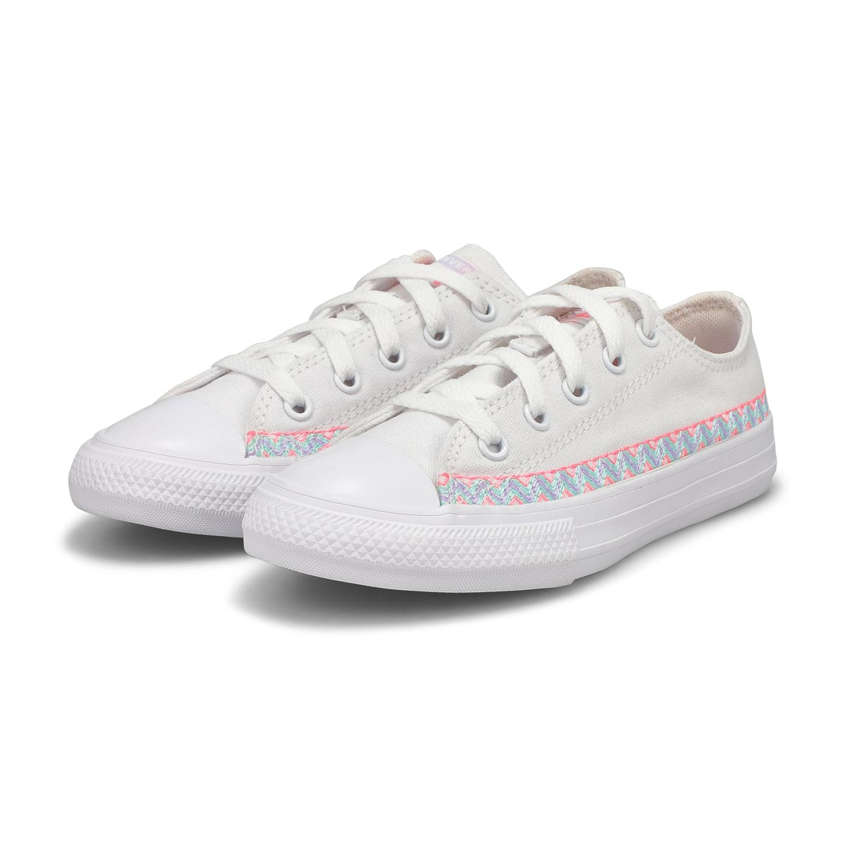 Girls' Chuck Taylor All Star Sneaker - White Multi