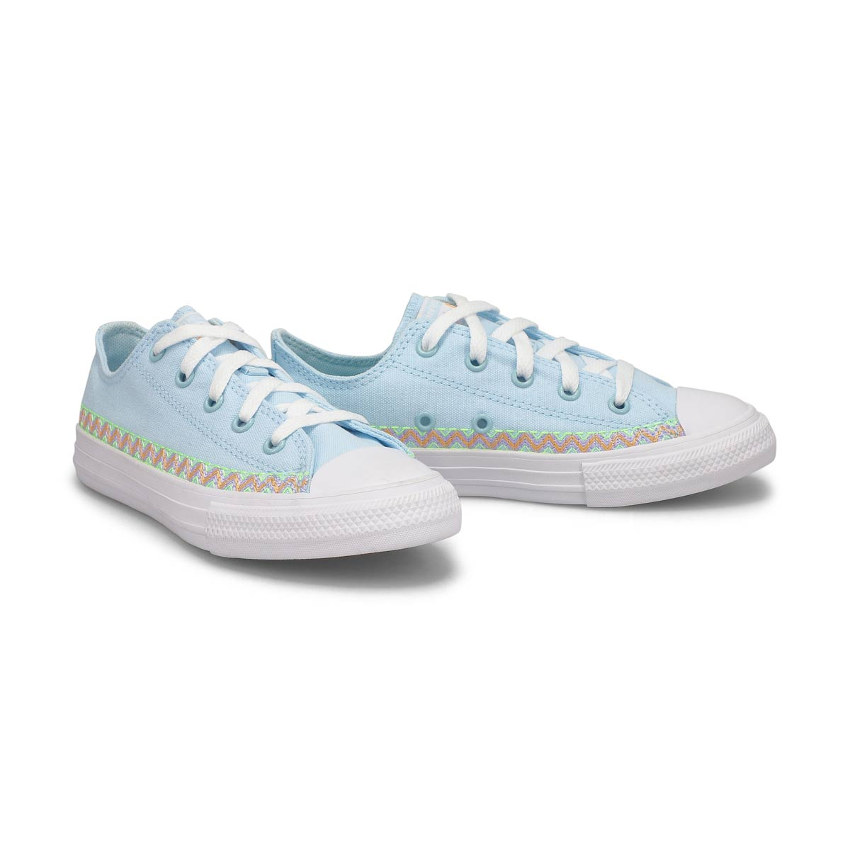 Girls' All Star Seasonal Sneaker - Blue/Violet
