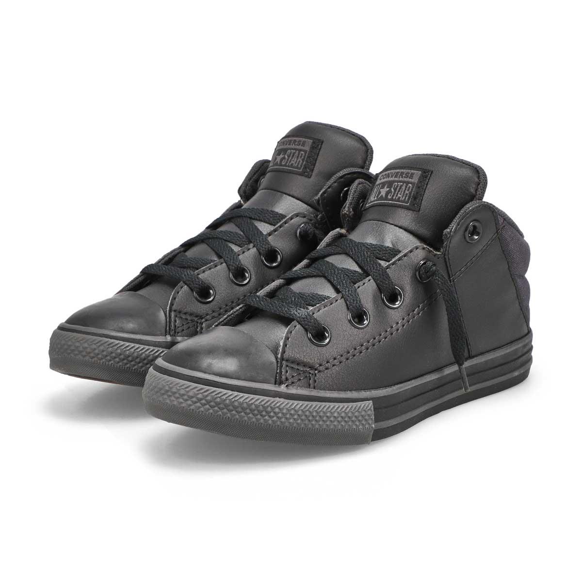 Boys' Chuck Taylor All Star Axel Sneaker- blk/blk