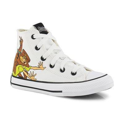 Kids' CT ALL STAR SCOOBY DOO wht/mlti sneakers