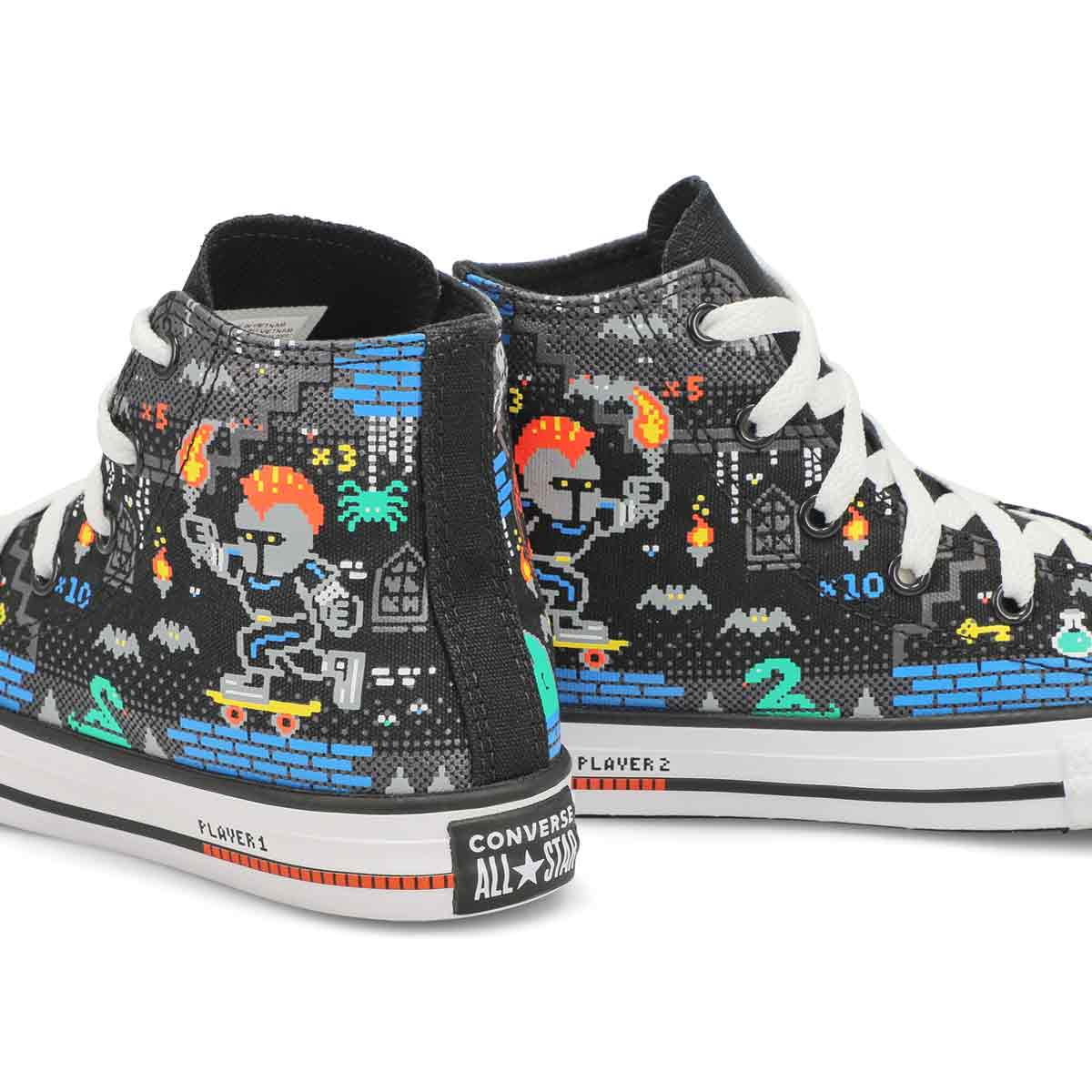 Boys' Chuck Taylor All Star Gamer Hi Top Sneakers