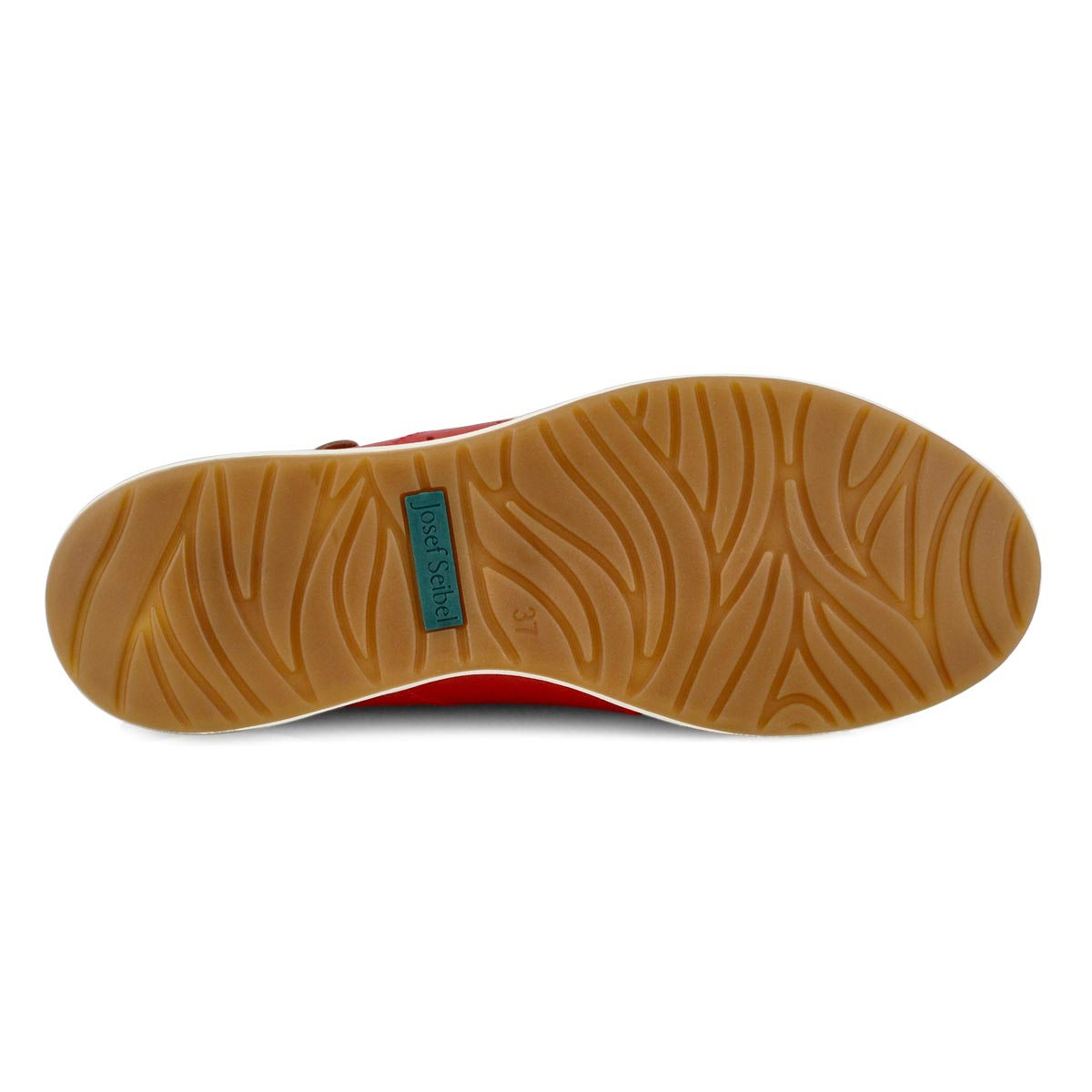 Women's Caren 01 Lace Up Sneaker - Red