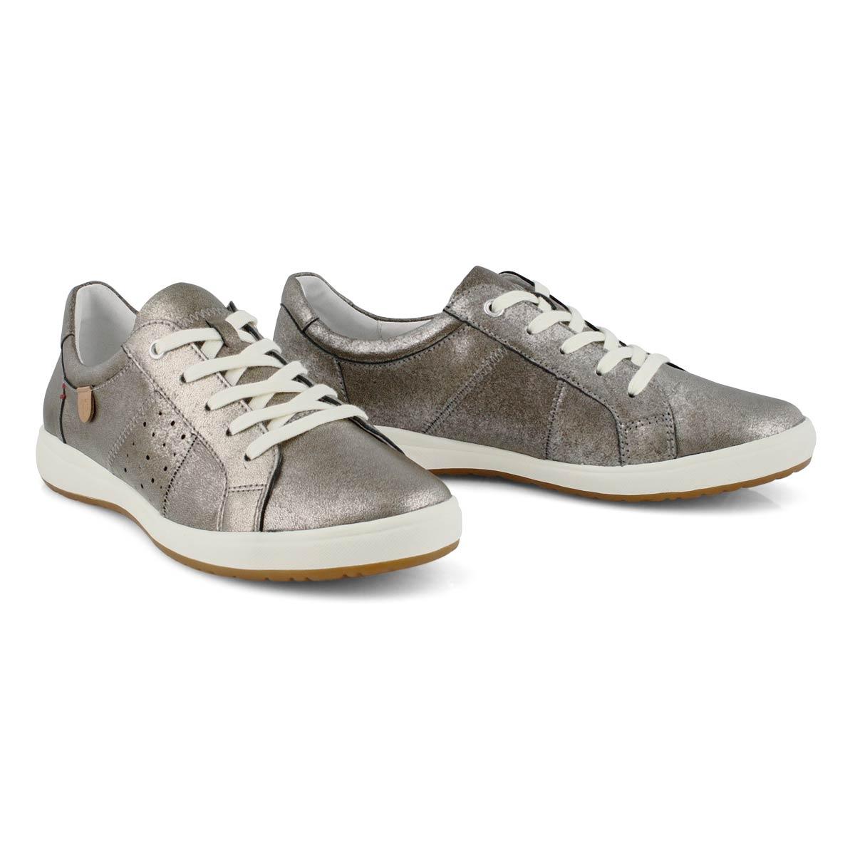Women's Caren 01 Lace Up Sneaker - Platinum
