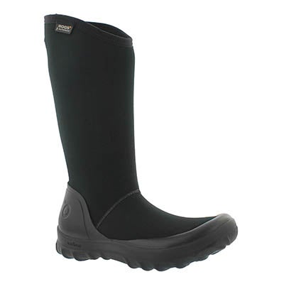Lds Kettering blk tall wtpf winter boot