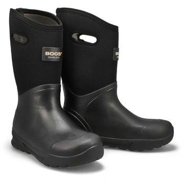 Mens BOZEMAN TALL black waterproof boots