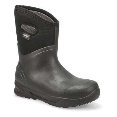Men's BOZEMAN MID black waterproof boots