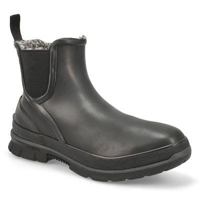 Women's AMANDA PLUSH black wtpf chelsea boots