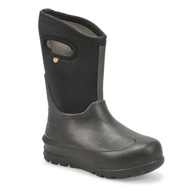 Kids' NEO-CLASSIC black waterproof winter boots